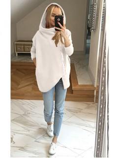 Bluza Asymetryczna Waniliowa