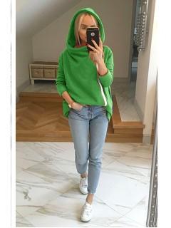 Bluza Asymetryczna Zielona