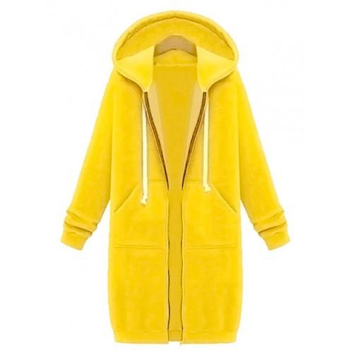 Bluza Długa Żółta
