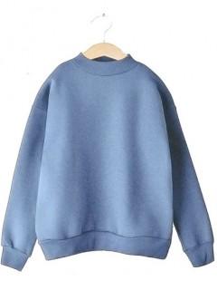 Bluza Stójka Awanti Zgaszony Niebieski