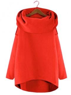 Bluza Asymetryczna Czerwień Strażacka