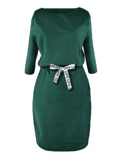 Sukienka Taśma Butelkowa