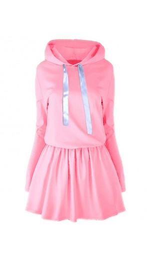 Sukienka Wstążka Baby Pink