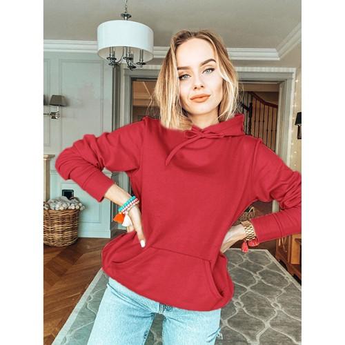 Bluza Troczek Basic Czerwona