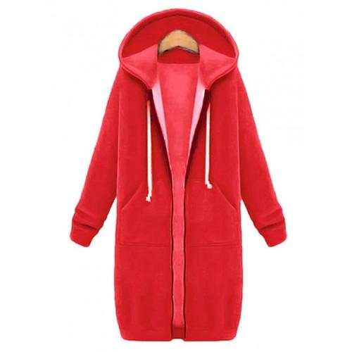 Bluza Długa Czerwona