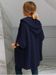 Kardigan Kimono Granatowy