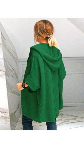 Kardigan Kimono Zielony