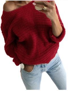 Sweter Nietoperz Brodowy