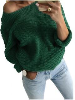 Sweter Nietoperz Butelkowy