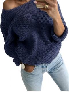 Sweter Nietoperz Denim
