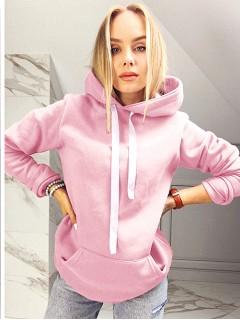 Bluza Wstążka Baby Pink