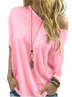 Bluzka Nietoperz Baby Pink