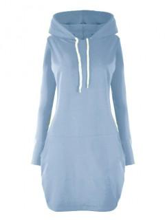 Sukienka Kangurka Niebieska