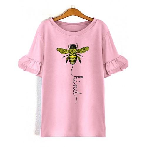 Koszulka Pszczółka Różowa