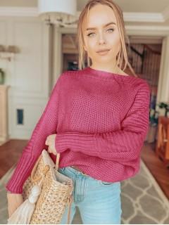 Sweter Ryżowy Fuksja