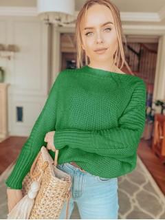 Sweter Ryżowy Zielony