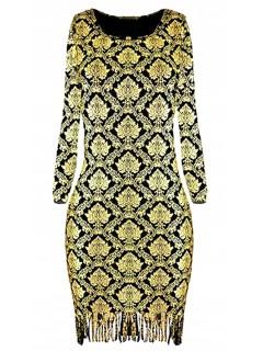 Sukienka Glam Gold