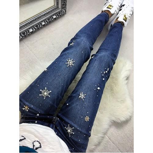 Spodnie Cyrkonie Size+