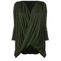 Bluzka Wrap Olive