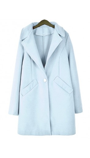 Płaszcz Monako Pastel Blue