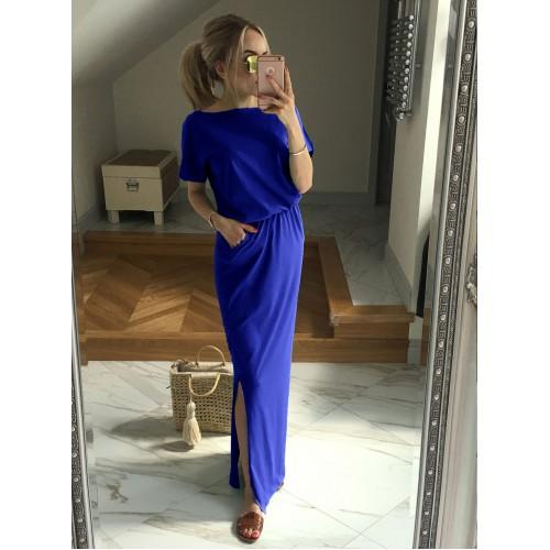 Sukienka Atena Maxi Chabrowa