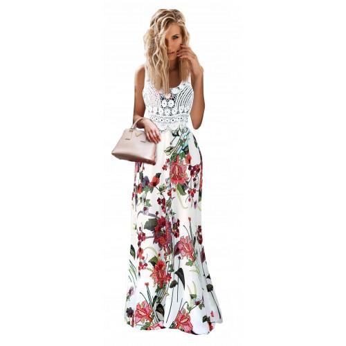 Sukienka Gipiura White