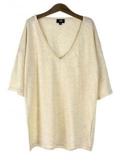 Koszulka Basic V-neck Sandy
