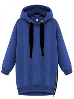 Sukienka Oversize Navy Blue