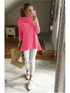 Bluza Over Neon Pink