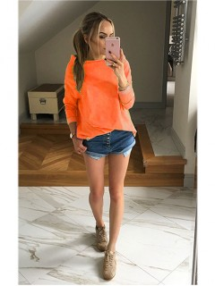 Bluza Over Neon Orange