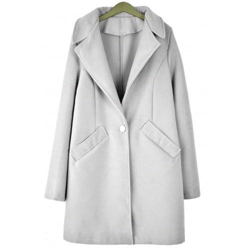 Płaszcz Monako Pastel Grey