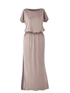 Sukienka Atena Maxi Kakao