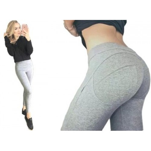Legginsy Push up Grey