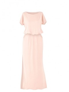 Sukienka Atena Maxi Morelowa