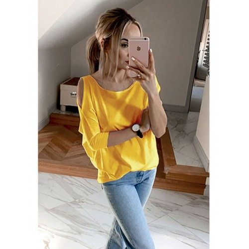 Bluzka Łezka Żółta