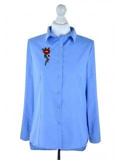 Koszula Haft Blue