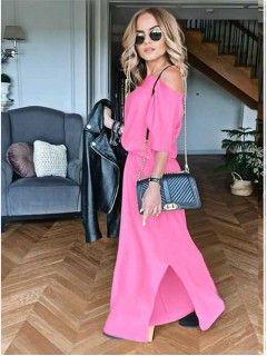 Sukienka Awanti Maxi Cukierkowa