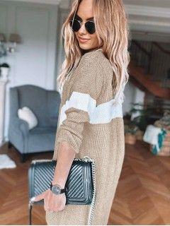 Sweter Kardigan Pas Kawa z Mlekiem