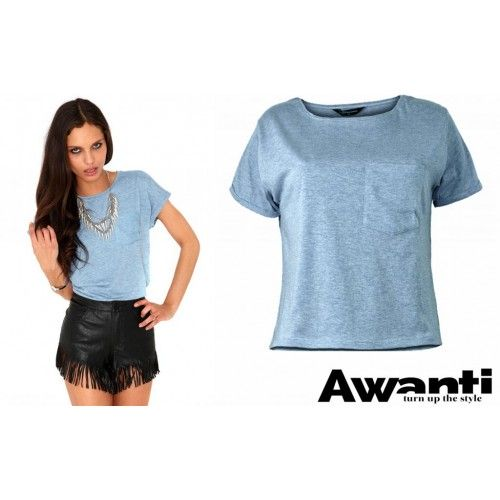 Koszulka Hot Top Blue