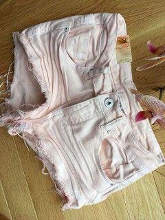 Spodenki Vintage Baby Pink