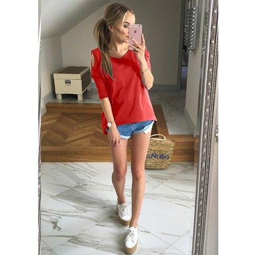 Bluzka Łezka Red