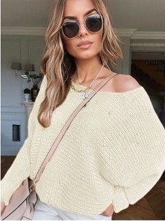 Sweter Perły Waniliowy