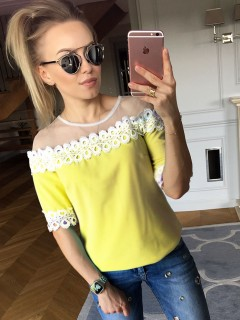 Bluzka Moli Yellow